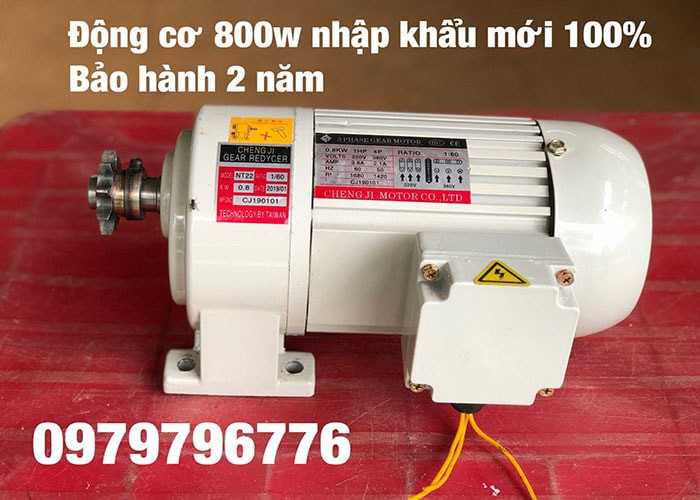 Dong Co 800w Moi 100