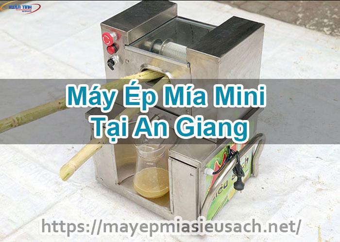 Máy Ép Mía Mini Tại An Giang