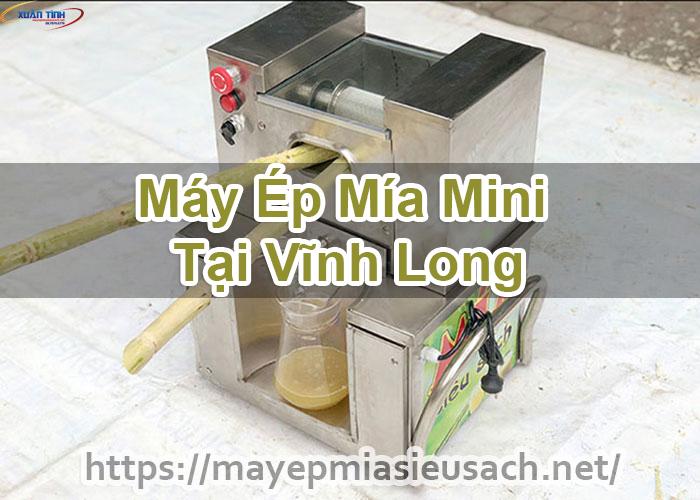 Máy Ép Mía Mini Tại Vĩnh Long