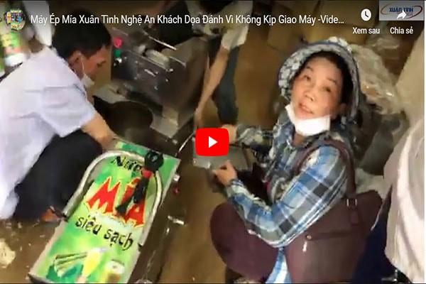 May Ep Mia Xuan Tinh Nghe An Khach Doa Danh Vi Khong Kip Giao May Video Truc Tiep