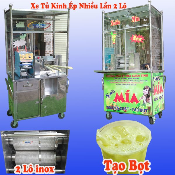Xe Nuoc Mia Tao Bot 2 Lo Tu Kinh